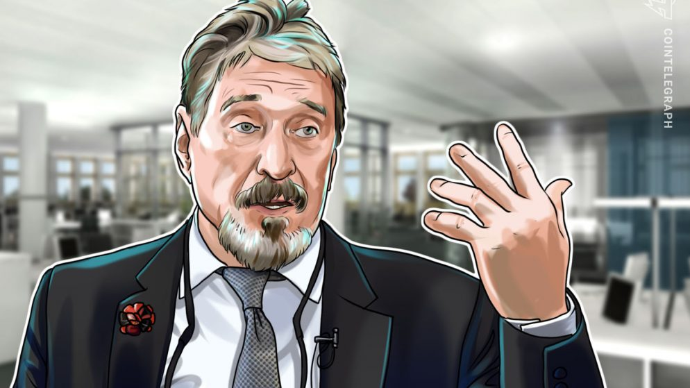 John McAfee's Ghost Distributed Trade Now Reside