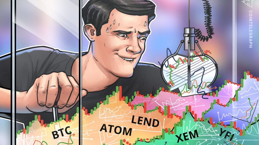 High 5 Cryptocurrencies to Watch This Week: BTC, ATOM, LEND, XEM, YFI