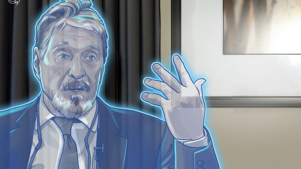 John McAfee Has Left His Personal Privateness Asset Mission