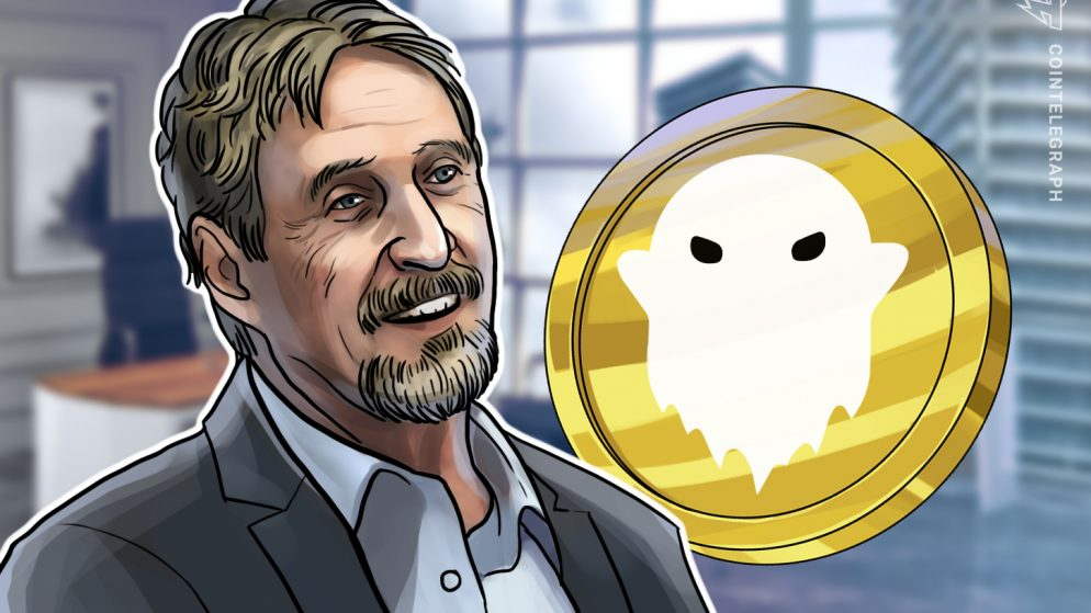 John McAfee clarifies he's nonetheless a part of Ghost's ecosystem