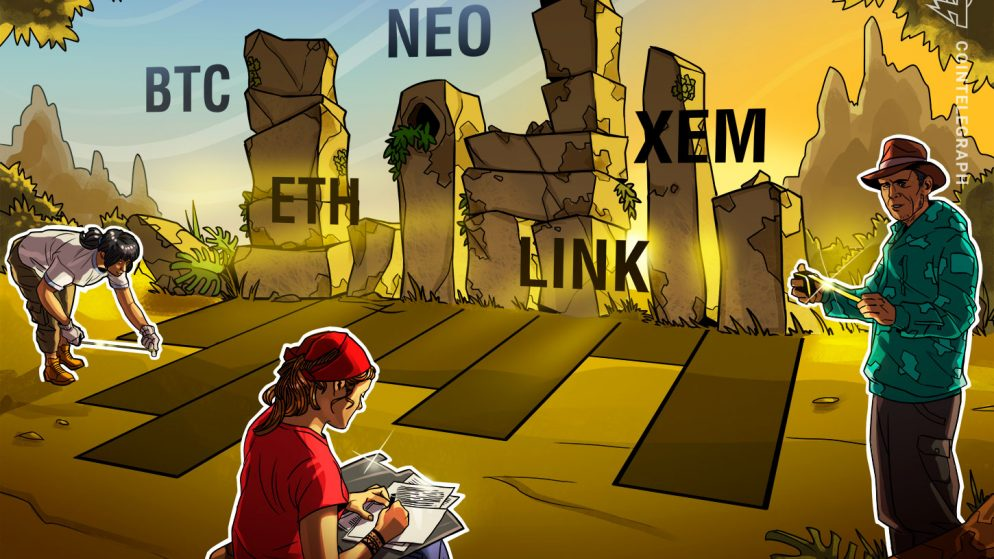 Prime 5 Cryptocurrencies to Watch This Week: BTC, ETH, LINK, NEO, XEM