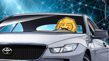 Toyota's IT arm works on digital token pilot with crypto trade