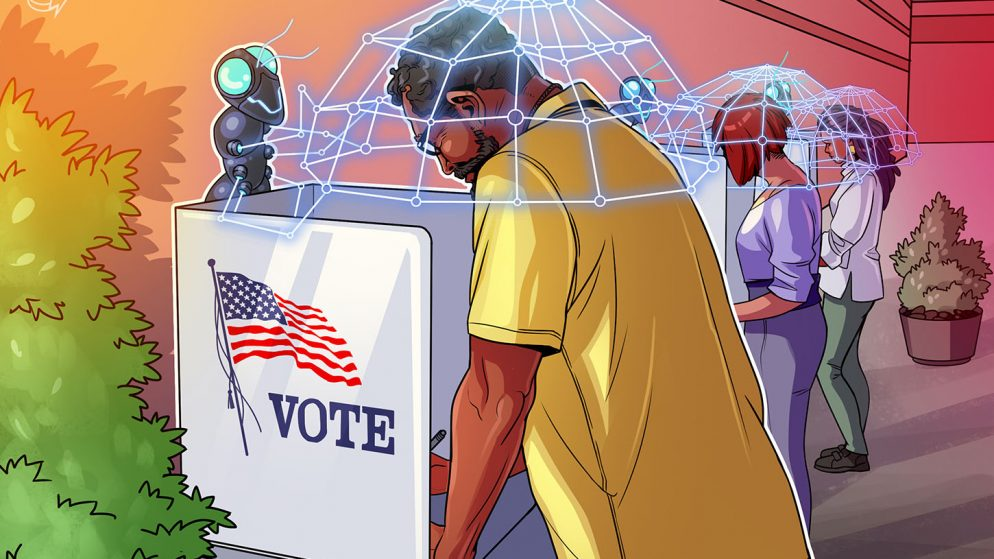 Blockchain voting is the choice for trusted democratic elections