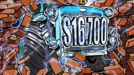 Bitcoin hits new 2020 excessive at $16.7K —Merchants anticipate greater breakout