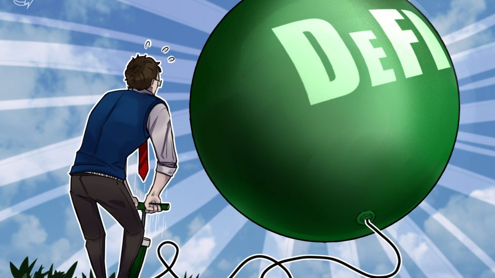Institutional cash is pumping the DeFi markets again up