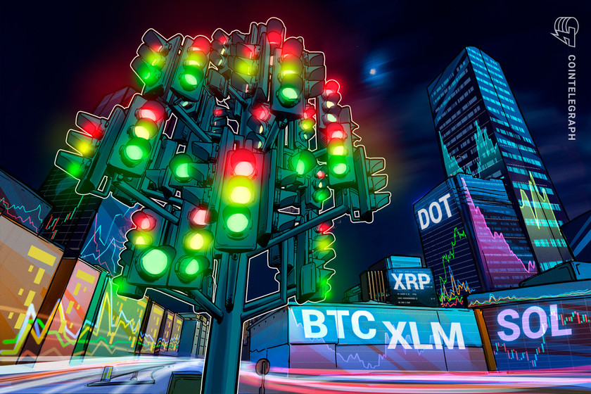 High 5 cryptocurrencies to look at this week: BTC, XRP, DOT, XLM, SOL